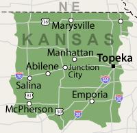 Our Kansas Service Area